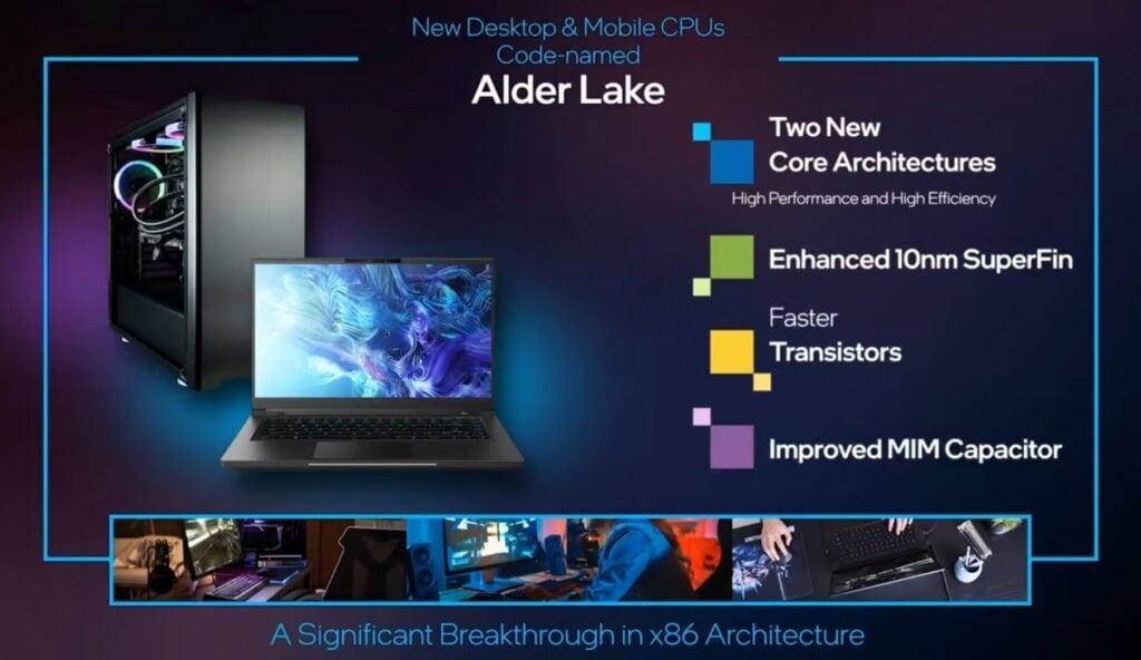 Intel 12th Gen Alder Lake CPU Next Gen CPU