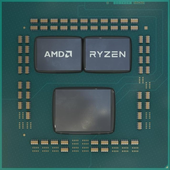 AMD Ryzen chiplet design