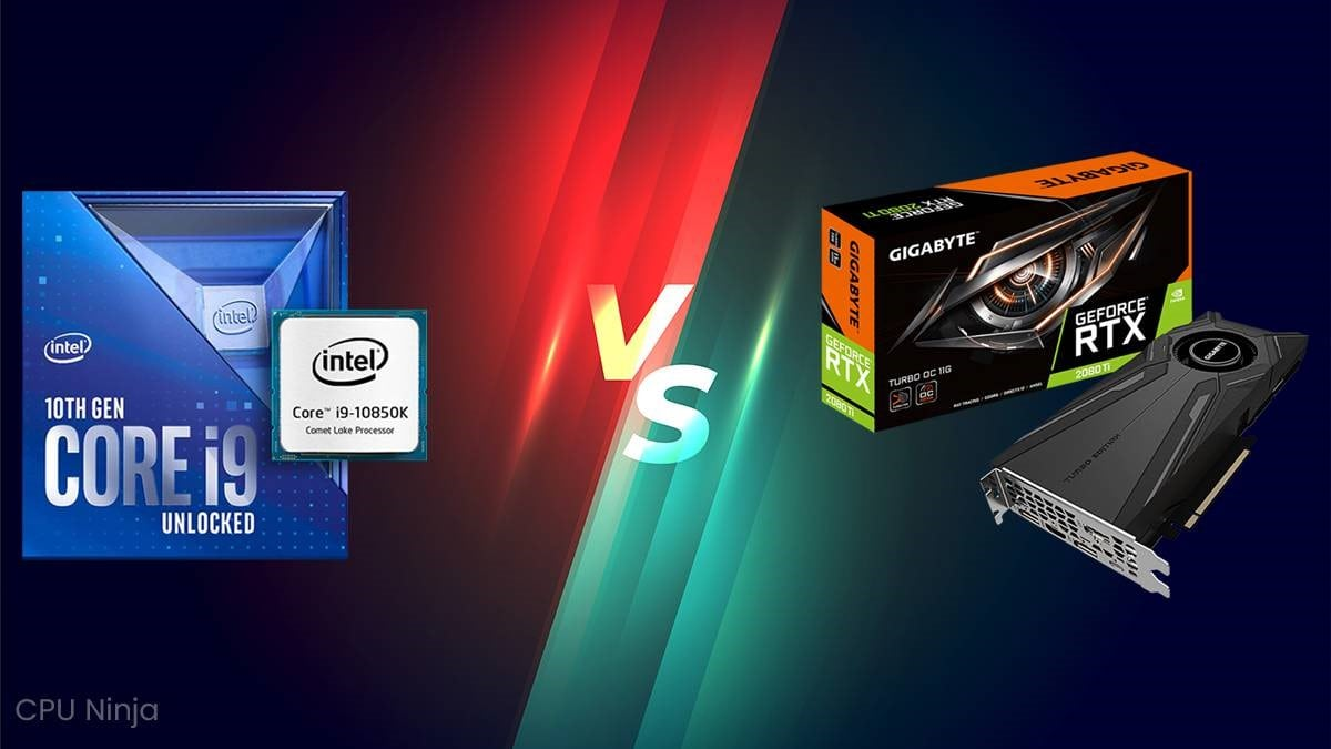 CPU Vs GPU – What Is The Difference