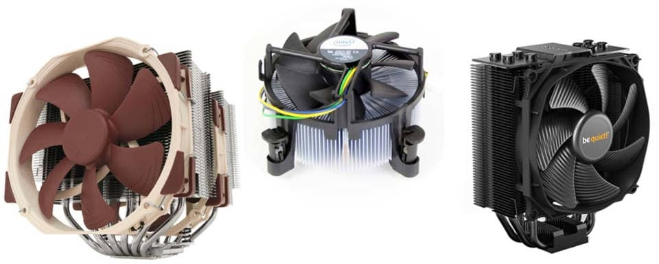 CPU air coolers – fans