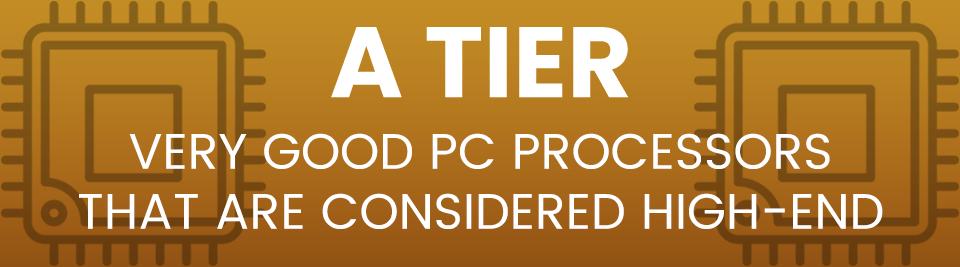 CPU Hierarchy A Tier